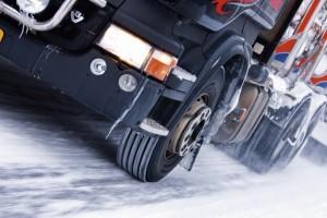 Аквапланирование грузовых шин